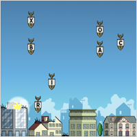 Free Typing Game: Alphattack