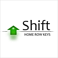 Typing Practice: Capitalization of Home Row Keys using the Shift Key